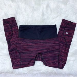 """[lululemon] Run The Day Crop 17"""" Blushberry Nulux"""